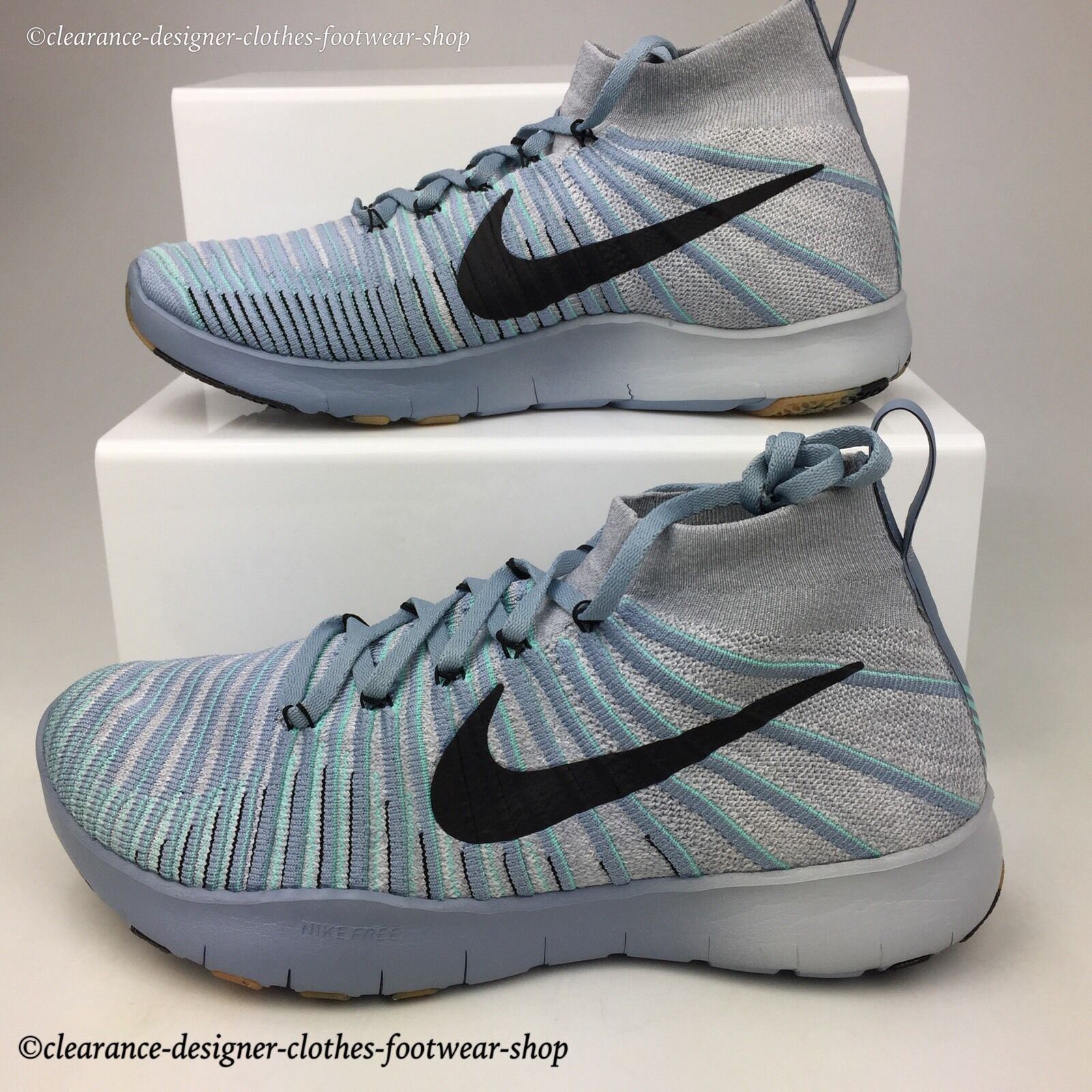 the best attitude e9f7a 12a17 NIKE NIKE NIKE FREE TRAIN FORCE FLYKNIT TRAINERS MENS NEW RUNNING GYM SHOES  RRP 8e4d3d