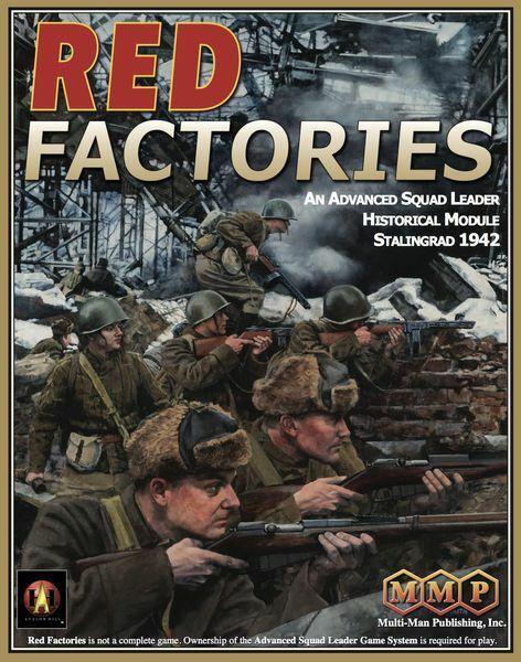 ASL Advanced Squad Leader Historical Modul 10, Red Fabriken, Fabriken, Fabriken, New By Mmp Eng 1bf086