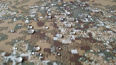 "SPECIAL LISTING PENCOTT BADLANDS CAMO OUTDOOR FABRIC 62"" SOFT NYLON MIL SPEC DWR"