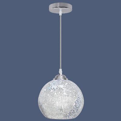 Vintage Glass Globe Ceiling Hanging Pendant Light Shade Mosaic Lighting M0103 | eBay