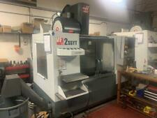 Haas Vf 2ssyt Vertical Machining Center New 2012 Mm