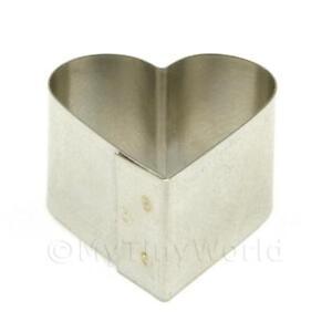 Metal Heart Shape Sugarcraft / Clay Cutter (20mm)