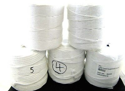 ETCOT-M Essential Trimmings Bleached Cotton Piping Cord