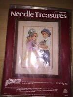 Needle Treasures Spring And Lance Jan Hagara Stitchery Craft Kit 00543
