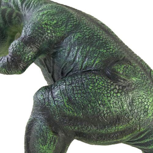"""caoutchouc souple en peluche T-Rex Tyrannosaurus Jouer Jouet JURASSIC Gigantesque 28/"""" 70 cm"""
