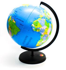 F000 aufblasbarer Globus mit Ständer Erdball Wasserball Erdglobus Mitgebsel