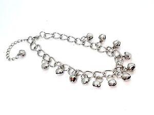 Clochette-Cheville-Bracelet-12-de-Qualite-Brillant-Acier-Danse-Cloches