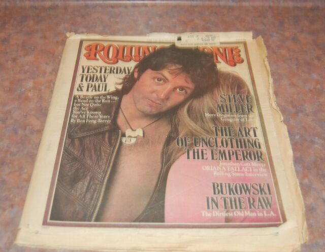June 17 1976 issue of Rolling Stone Paul McCartney Cover