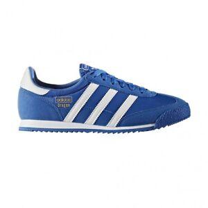 9ea0348c134e adidas Originals Dragon GS Retro Trainers in Blue   White BB2486 UK ...