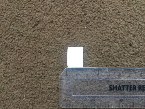 20 mm por 20 mm 200x y 200x de Bucle Gancho Pre corte Auto Adhesivo Hook /& Loop plazas