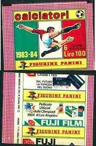 Bustina-Figurine-Calciatori-Panini-1983-84-Nuova-Sigillata