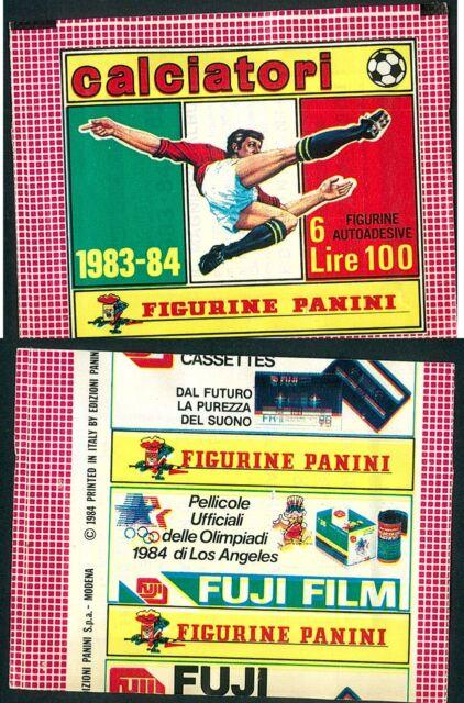 Bustina Figurine Calciatori Panini 1983-84! Nuova! Sigillata!