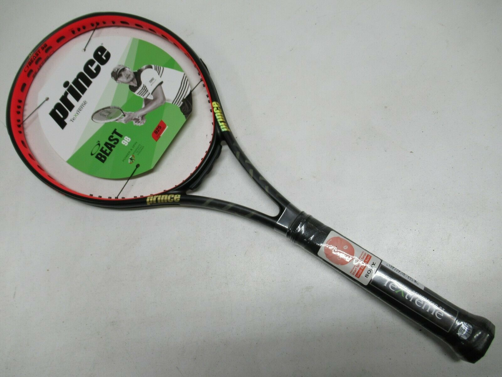 NEW PRINCE TEXTREME BEAST 98 TENNIS RACQUET (4 3 8)