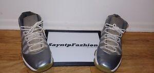 c6bd052f9647 Used Nike Air Jordan XI 11 Cool Grey Retro OG Mid-Top Size 13 378037 ...