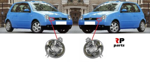 FOR VW LUPO 1998-2005 NEW FRONT BUMPER INDICATOR REPEATER CLEAR PAIR SET