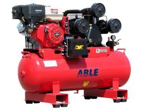42CFM 145PSI Petrol Air Compressor 15HP 160LT FREE SHIPPING
