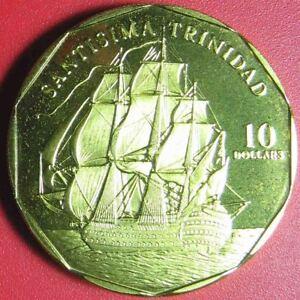 1998-MARSHALL-ISLANDS-10-SANTISIMA-TRINIDAD-SPANISH-MANILA-GALLEON-SHIP-RARE