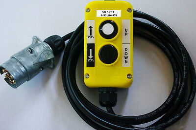 Express Post 4 Button Control to suit Tieman AHT hydraulic Tailgate Tail lift
