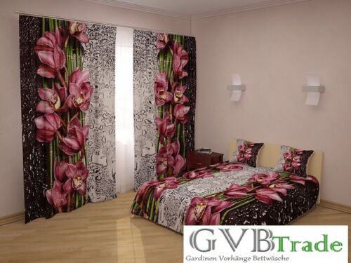 Bed Throw Bedspread Pillowcase Photo Curtain Curtains 3d Photo Print customized