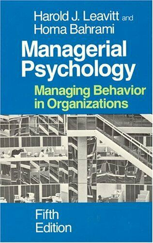 Führungskräfte Psychology: Managing Behavior in Organisationen von Leavitt,