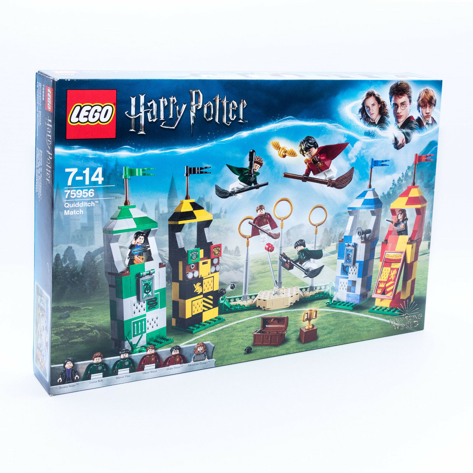 LEGO 75956 Harry Potter Quidditch™ Turnier mit 6 Minifiguren NEU / OVP