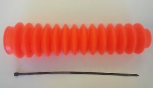 Single off road shock boots hot Fluorescent orange for Rancho Pro Comp style