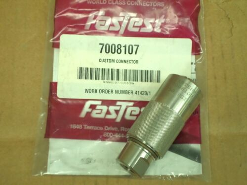 FasTest 7008107 WEH70 Body Size 3 Oil Drain Tube//Plug Connector