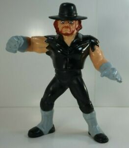 WWF-WWE-Hasbro-The-Undertaker-1-Wrestling-action-figure-1990-Loose-Complete