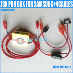Details about Original Z3X BOX Gold Version Activated Samsung Pro For  Repair Samsung+4 cables