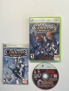 Culdcept Saga (Microsoft Xbox 360, 2008) Complete w/ Manual *RARE*