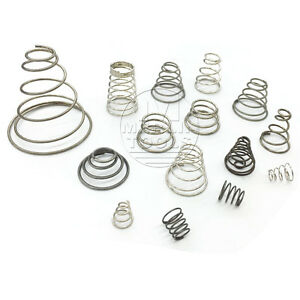 Wire-dia-0-2-to-1-6mm-Steel-Coil-Conical-Helical-Compression-Spring-Select