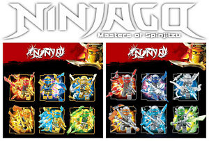 Ninjago-Custom-klar-Minifiguren-Set-Waffen-Arsenal-USA-Verkaeufer