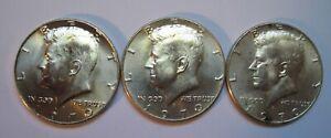 3-1970-D-Kennedy-40-Half-Dollars-Key-Coins-of-Kennedy-Set