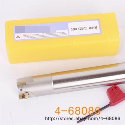 BAP300R C25-25-150-3T Indexable End Mill Holder APMT1135PDER DP5320 10PCS