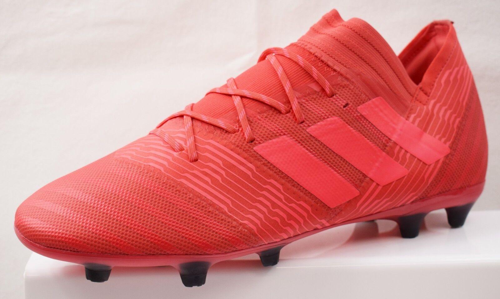 Adidas nemeziz 17.2 FG botas de fútbol para hombres nuevo tamaño de Reino Unido 10 (EC7)
