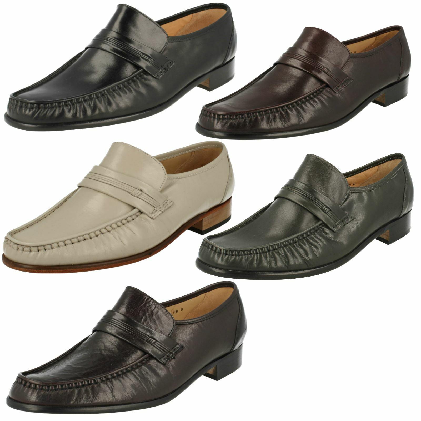 Homme Grenson  Formelle Mocassin Chaussures-Clapham