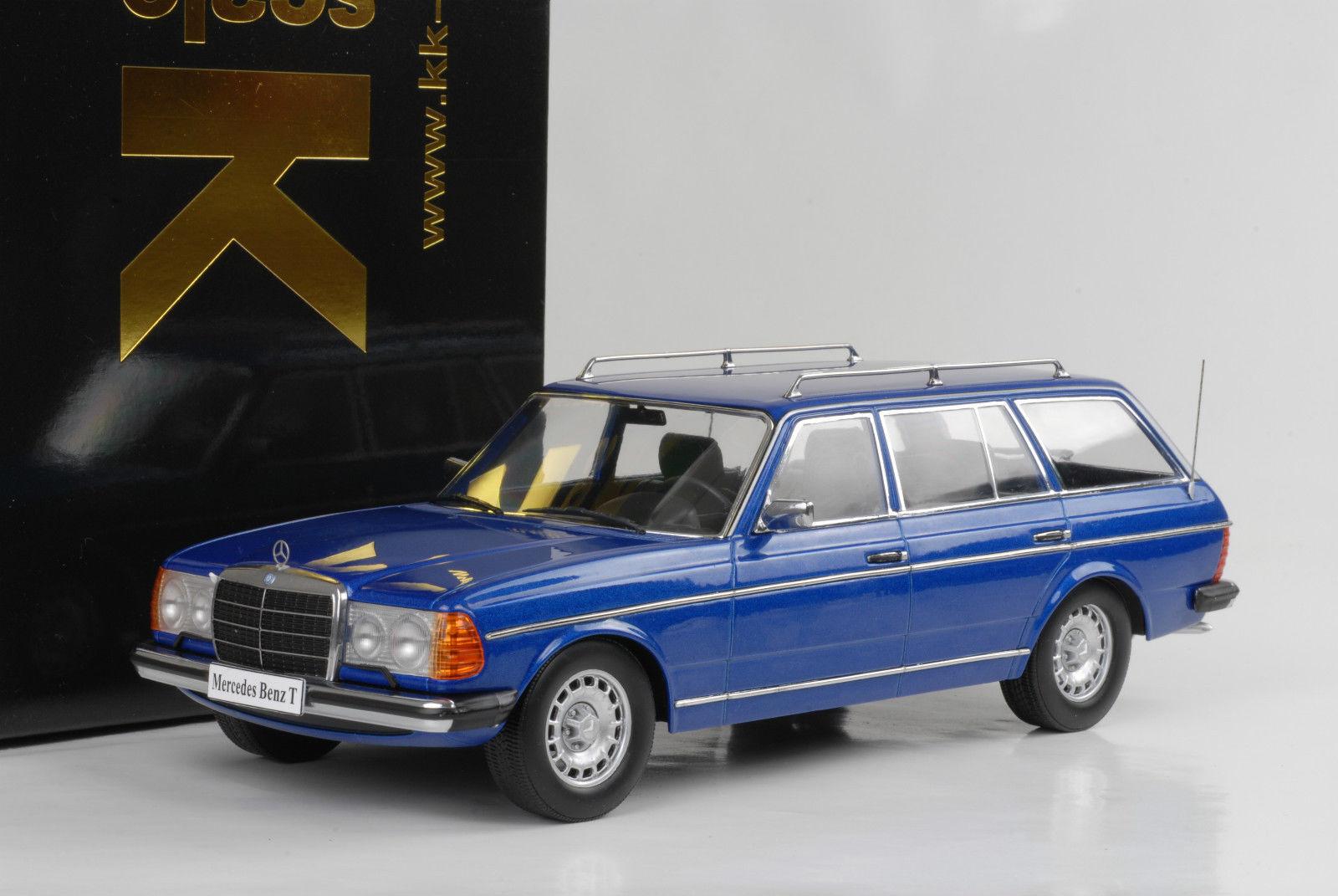 MERCEDES-BENZ 250 T 1978 w123 KOMBI Estate bleu Bleu Métallisé 1 18 KK QUALITE
