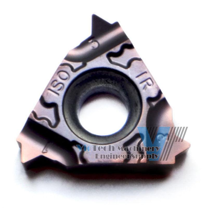 5pc KYOCERA 16IR ISO-TF PVD Coated Carbide Metric Internal Threading Insert
