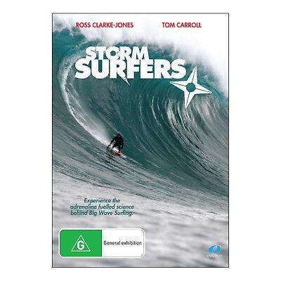 Storm Surfers  DVD  Brand New Aus Region 4 - Tom Carroll, Ross Clark-Jones