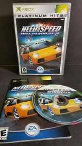 Need For Speed Hot Pursuit 2 Platinum Hits For The Original Xbox