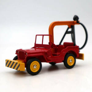 Atlas-Dinky-Toys-1412-Jeep-De-Depannage-Truck-Red-Diecast-Models-Collection-Car