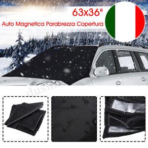Auto Copertura Parabrezza Magnetico Protezione Ghiaccio Universale 160x93cm
