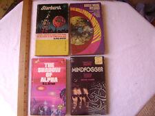 4-1950's-70's Sci-Fi Paperbacks- A.Bester, C.L.Grant, R.Williams,M. Rogers