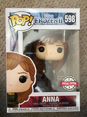 FUNKO POP VINYL FROZEN 2 ANNA SPECIAL EDITION #598 **IN STOCK** DISNEY NEW