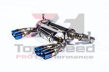 BMW E90 E92 M3 Coupe Sedan 08-13 100% Full Titanium Rear Section Exhaust Systems
