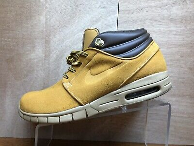 Details about Nike Stefan Janoski Max Mid PRM Bronze Gum Light Brown AV3610 779 Men's SZ 13
