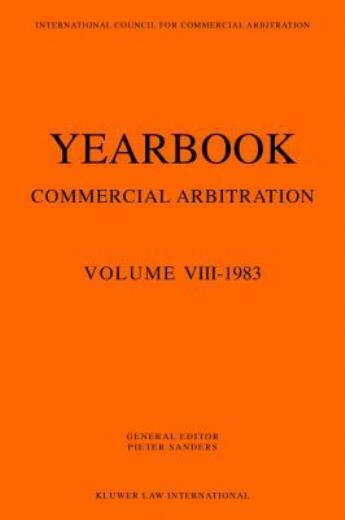Yearbook Commercial Arbitration Volume Viii -1983