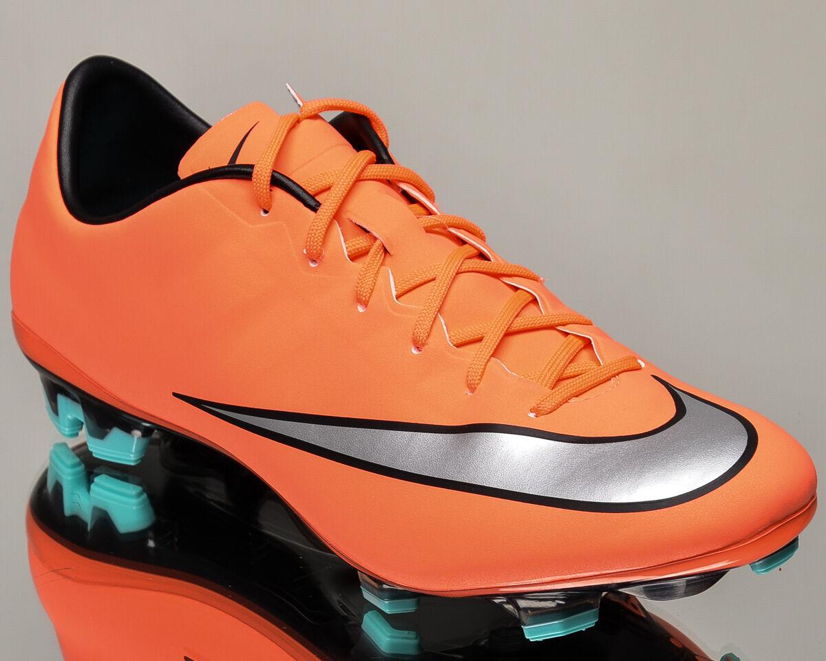 Nike Mercurial Veloce II FG 2 señores fútbol galerías vívido mango 651618-803