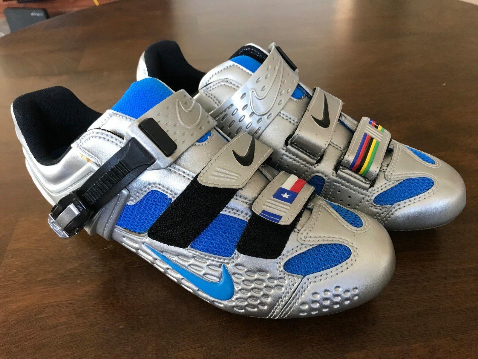 1663de85c02b3c Buy Ultra RARE Nike Lance Limited Edition Road Cycling Shoes Men s ...
