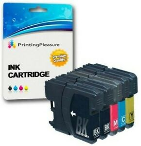 MULTIPACK-LC980-LC1100-5-CARTUCCE-COMPATIBILI-PER-BROTHER-MFC-6890CDW-DCP-195C